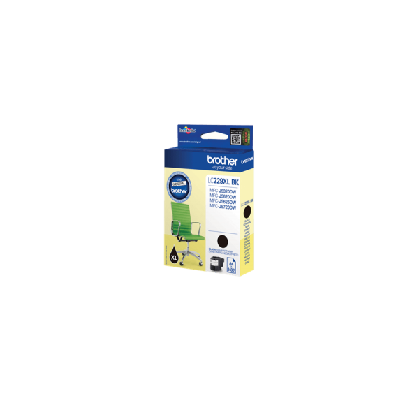 Brother LC-229 XL Original Black Ink Cartridge