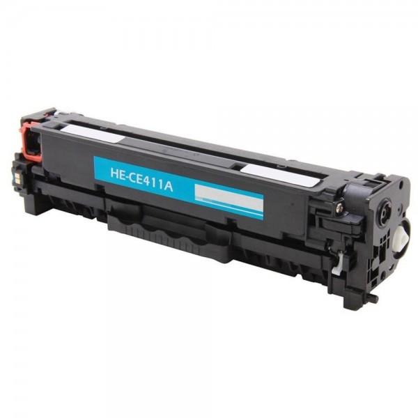 HP CE411A Compatible Blue Toner