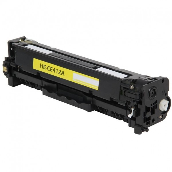 HP CE412A Yellow Compatible Toner