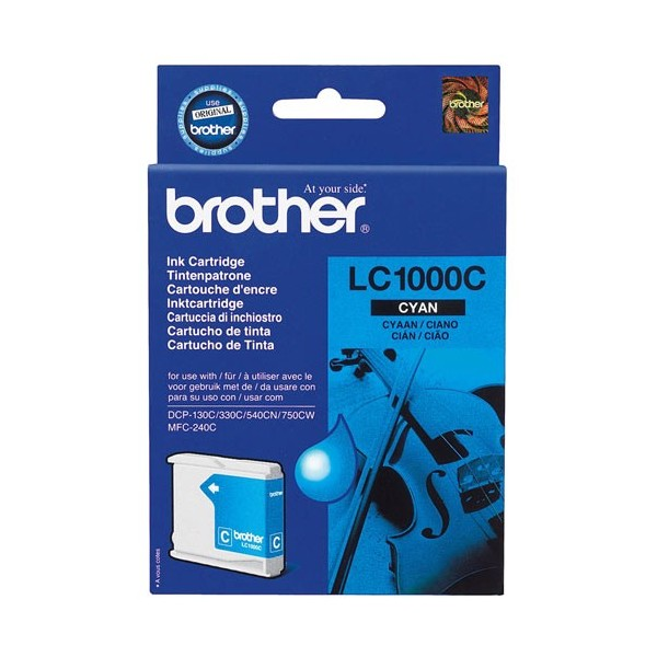 Brother LC-1000 Original Blue Ink Cartridge