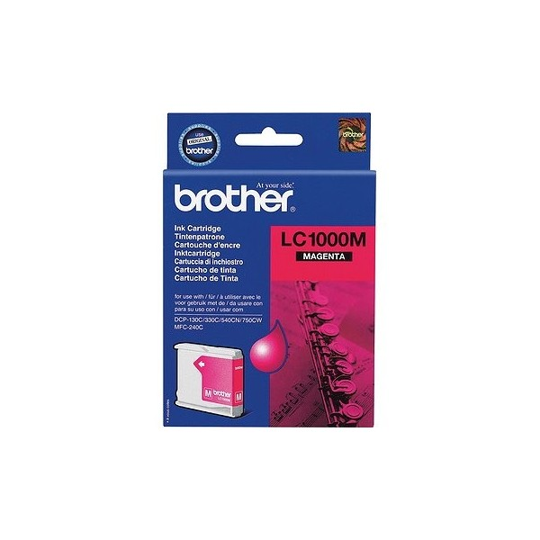Brother LC-1000 Original Magenta Ink Cartridge