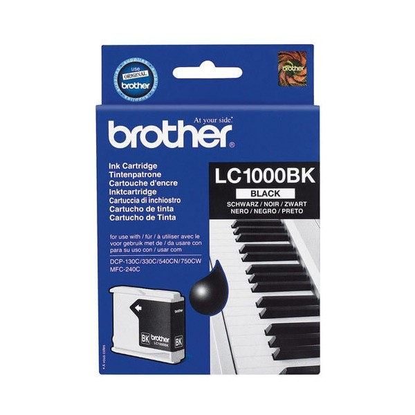 Brother LC-1000 Original Black Ink Cartridge