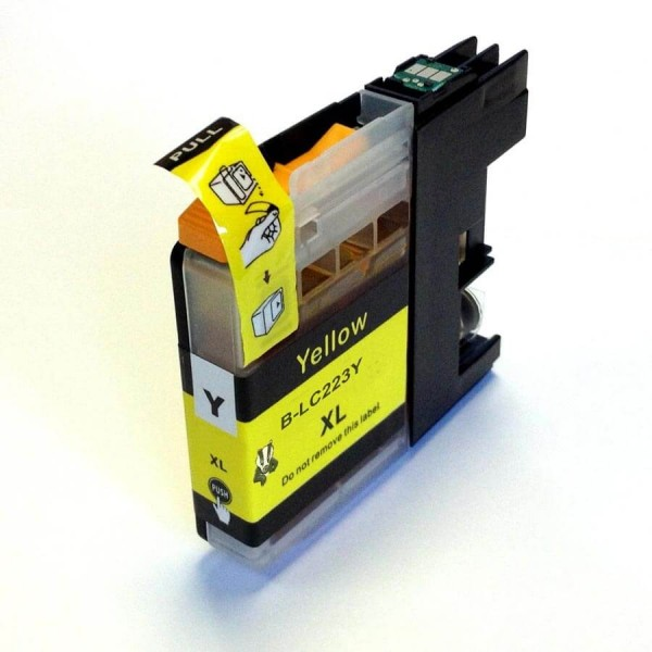 Brother LC-223 Yellow Compatible Ink Cartridge