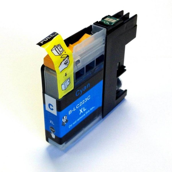 Brother LC-223 Blue Compatible Ink Cartridge