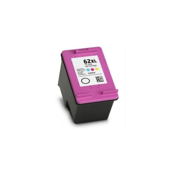 HP 62XL Color Ink Cartridge C2P07A Compatible