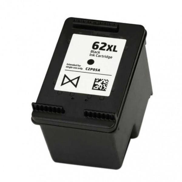 HP 62XL Black Ink Cartridge C2P05A Compatible