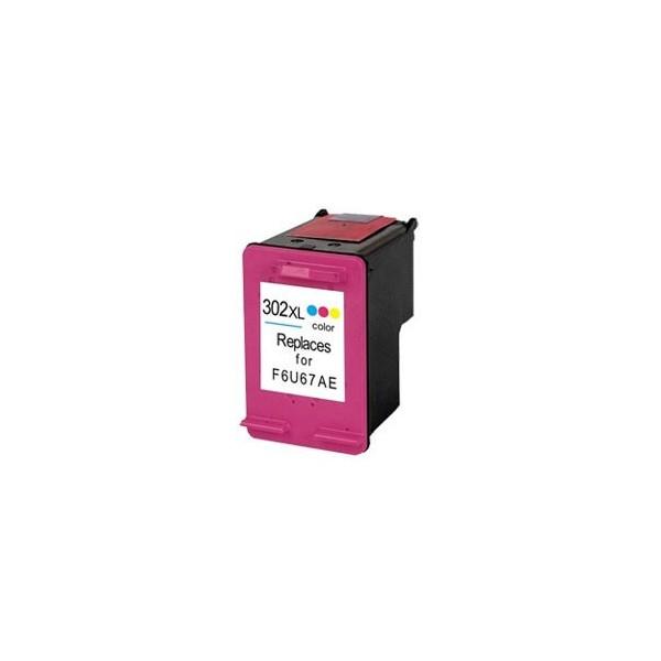 HP 302XL Color Ink Cartridge Compatible F6U67A