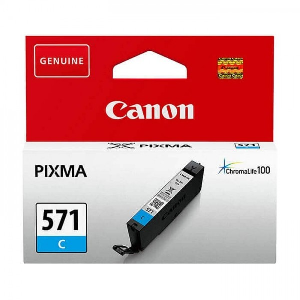 Canon 571 Original Blue Ink Cartridge
