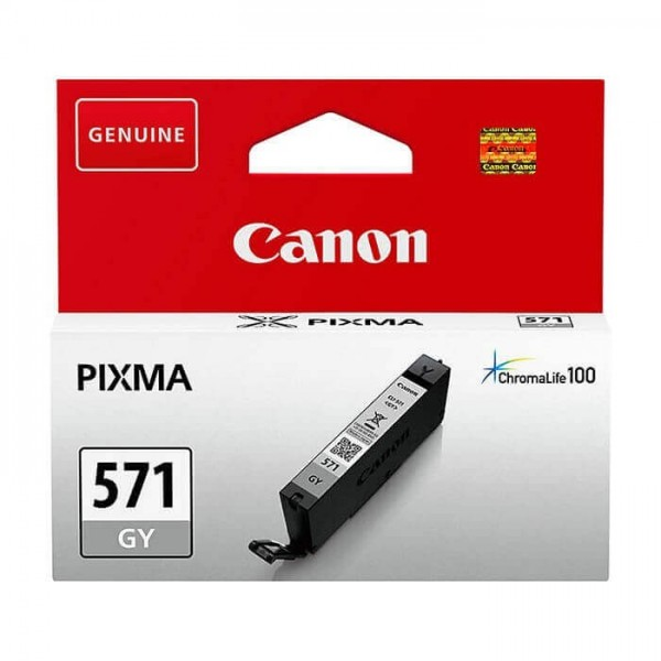 Canon 571 Original Gray Ink Cartridge