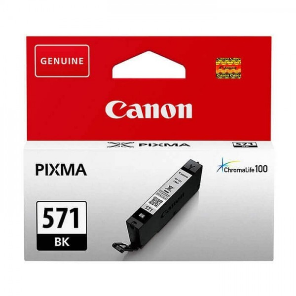 Canon 571 Black Original Ink Cartridge
