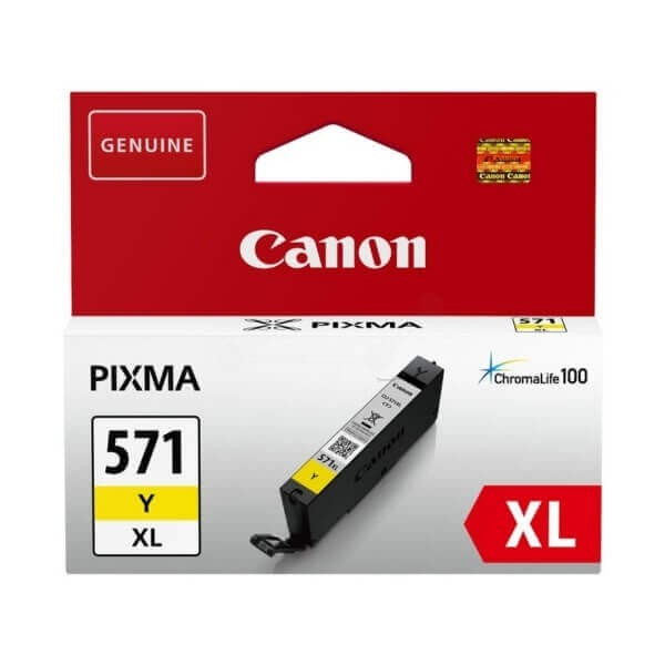 Canon 571 Yellow XL Original Ink Cartridge