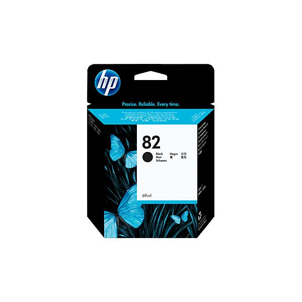 Original HP 82 Black Ink Cartridge CH565A