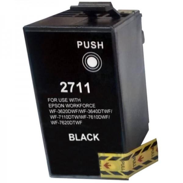 Epson T2711 XL Black Ink Cartridge C13T27114010 Compatible