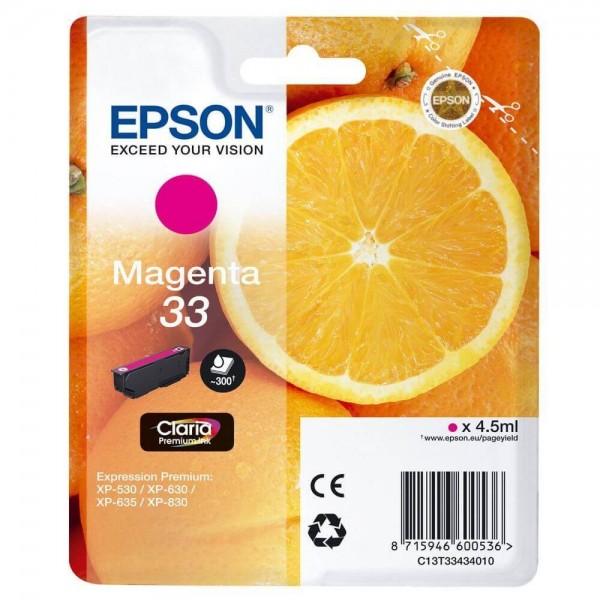 Original Ink Cartridge Epson T3343 Magenta