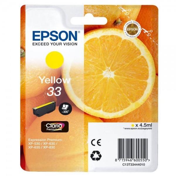 Original Ink Cartridge Epson T3344 Yellow
