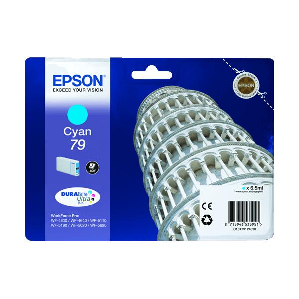 Original Epson T79 Blue Ink Cartridge C13T79124010