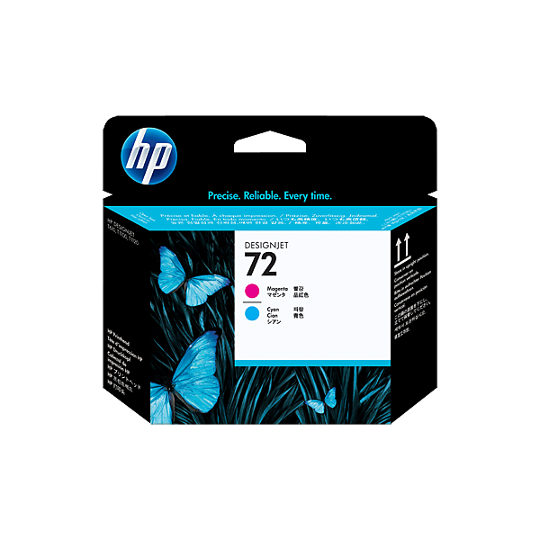 HP 72 Blue / Magenta Printhead C9383A