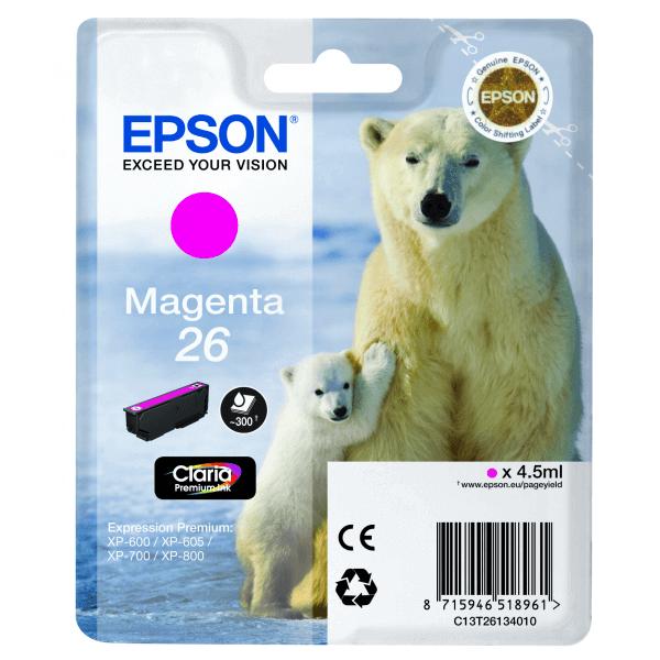 Original Epson T2613 Magenta Claria Premium Ink Cartridge