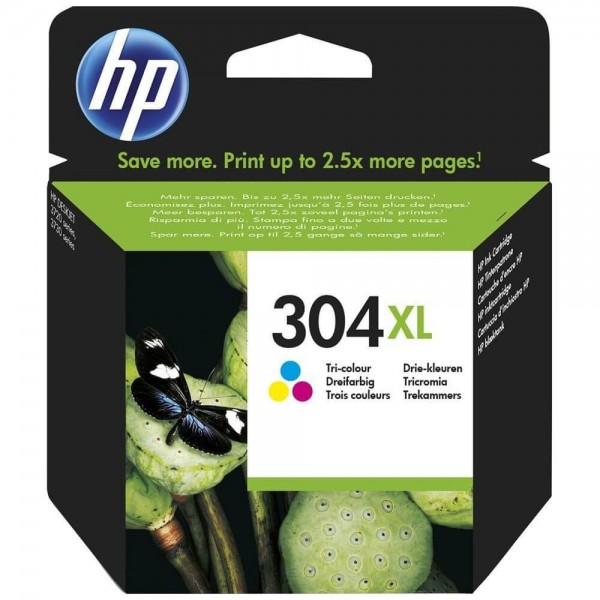 Original HP 304XL Color N9K07A Ink Cartridge