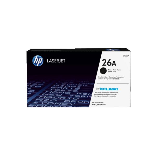 HP CF226A Black Laserjet 26A Original Toner