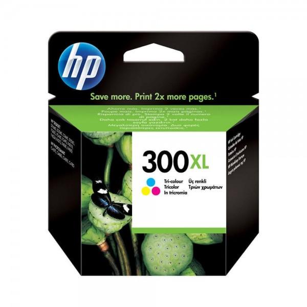 Original HP 300 XL Color Ink Cartridge CC644EE