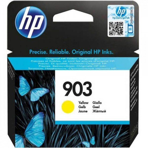 HP 903 Yellow T6L95A Original Ink Cartridge