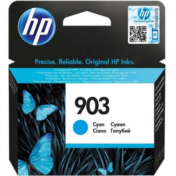HP 903 Blue T6L87A Original Ink Cartridge