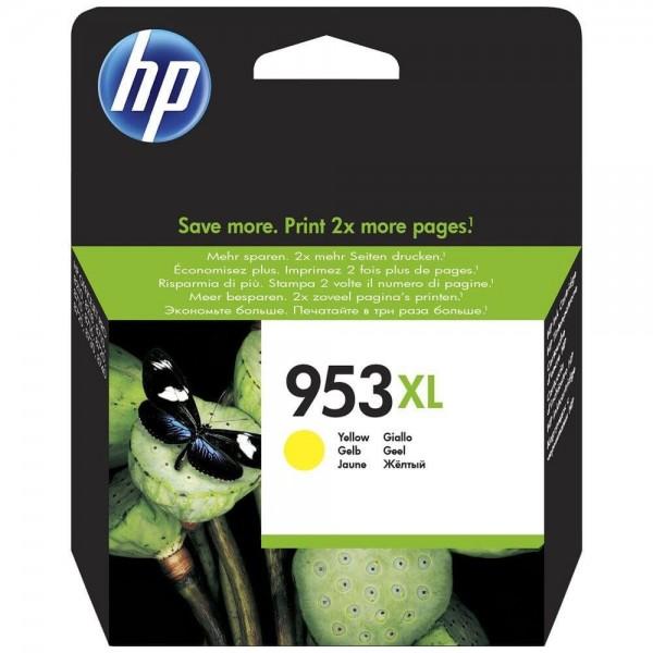 HP 953XL Yellow Ink Cartridge F6U18A Original