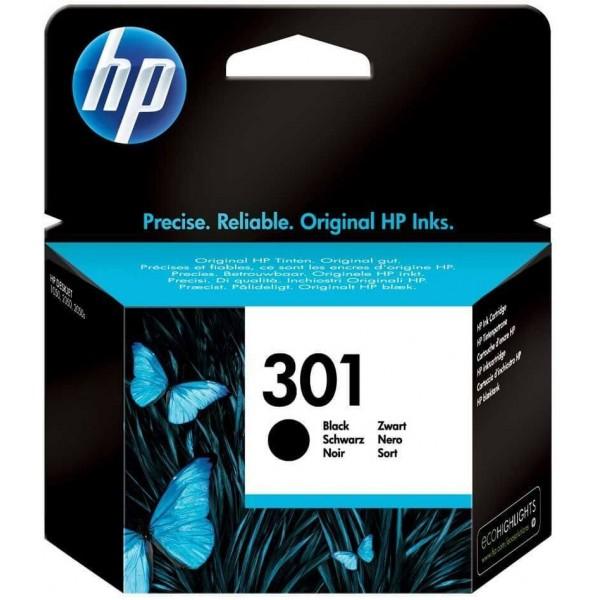 Original HP 301 Black CH561EE Ink Cartridge