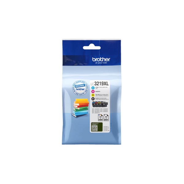 Pack 4 Ink Cartridges Brother LC-3219XL Original