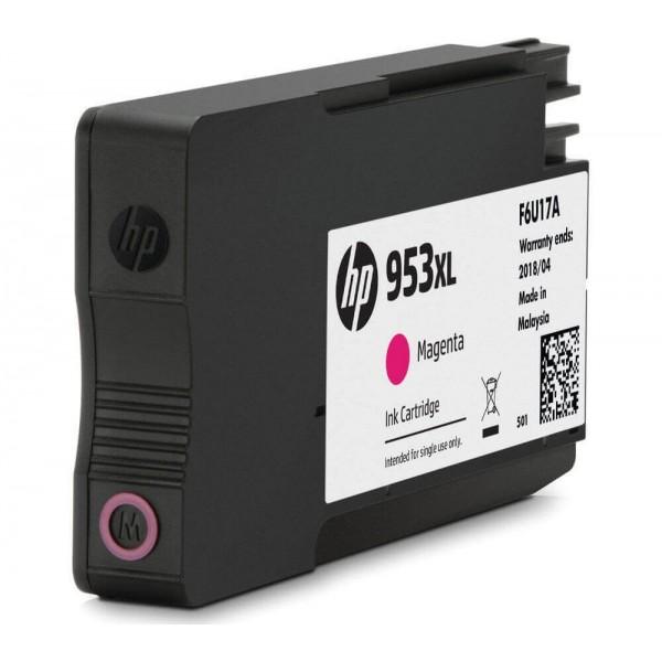 HP 953XL Magenta Ink Cartridge F6U17A Compatible