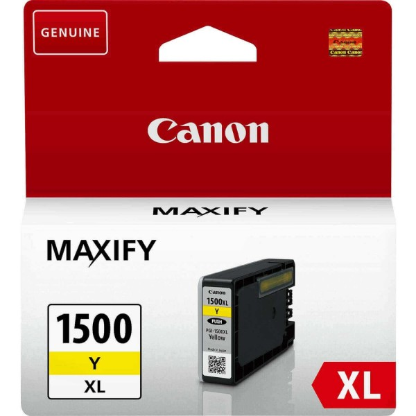 Canon PGI-1500 XL Original Yellow Ink Cartridge