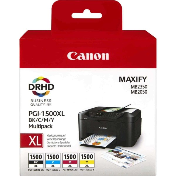 Canon PGI-1500 XL BK CMY Original Multipack