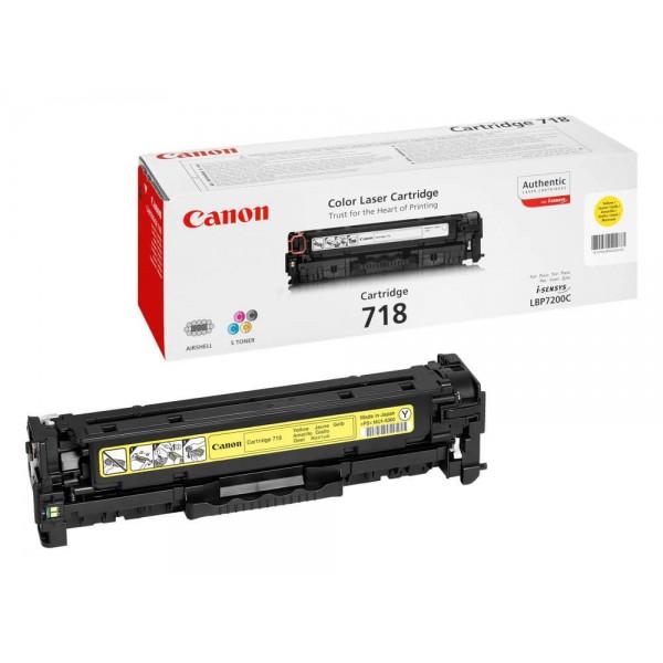 Canon Original Yellow 718Y Toner