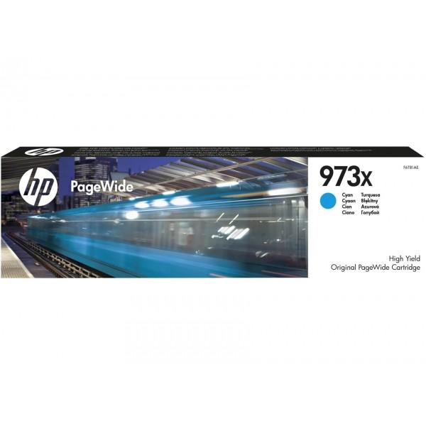 HP 973X Original Blue PageWide Ink Cartridge