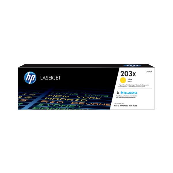 HP CF542X Yellow 203X Original Toner