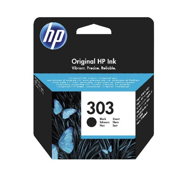 HP 303 Black T6N02AE Original Ink Cartridge