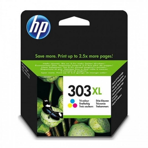 HP 303XL Color T6N03AE Original Ink Cartridge