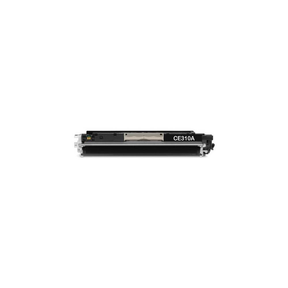 HP CE310A Black 126A Compatible Toner