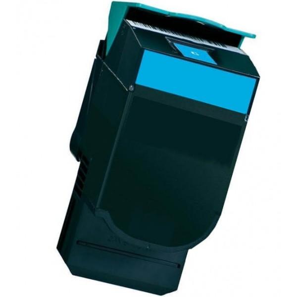 Lexmark CX410 / CX510 Blue 80C2HC0 / 802HC Compatible Toner