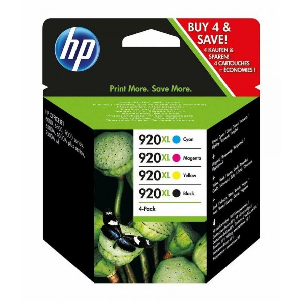 HP 920XL C2N92AE Combo Pack HP Ink Cartridges