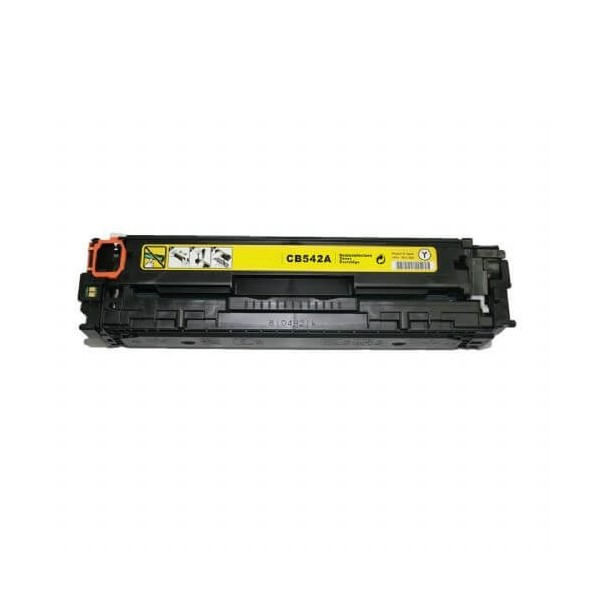 HP CB542A Yellow 125A Compatible Toner