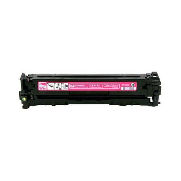 HP CB543A Magenta 125A Compatible Toner