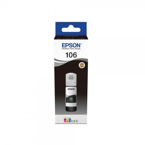 Epson 106 Ecotank Black Photo Bottle Ink