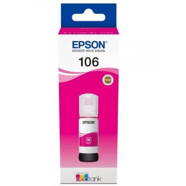 Epson 106 Ecotank Magenta Bottle Ink