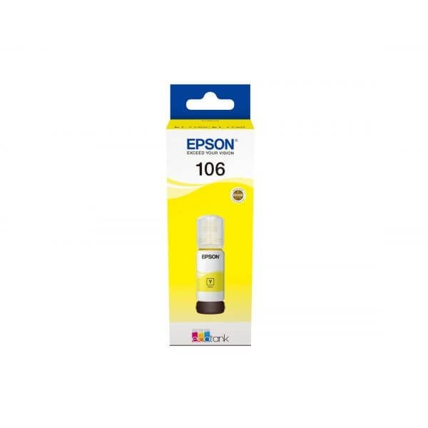 Epson 106 Ecotank Yellow Bottle Ink
