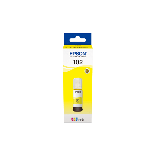 Epson 102 Ecotank Yellow Bottle Ink
