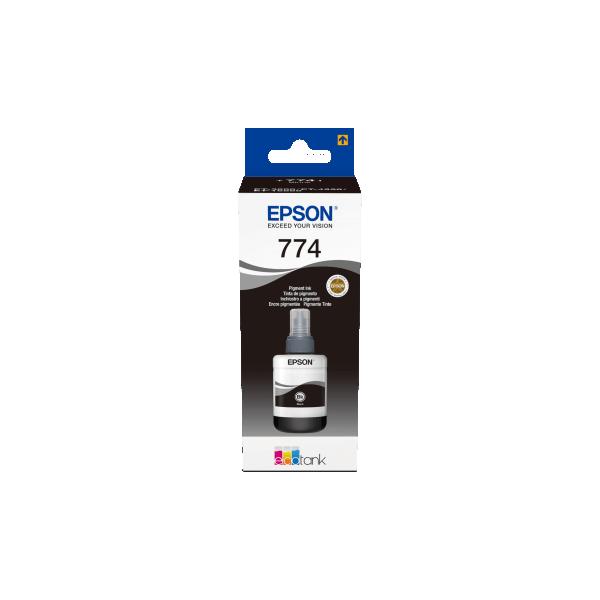 Ink Epson 774 Ecotank Black Bottle 140ml
