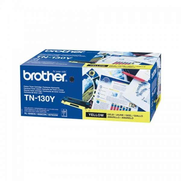 Brother TN130 Yellow Original Toner
