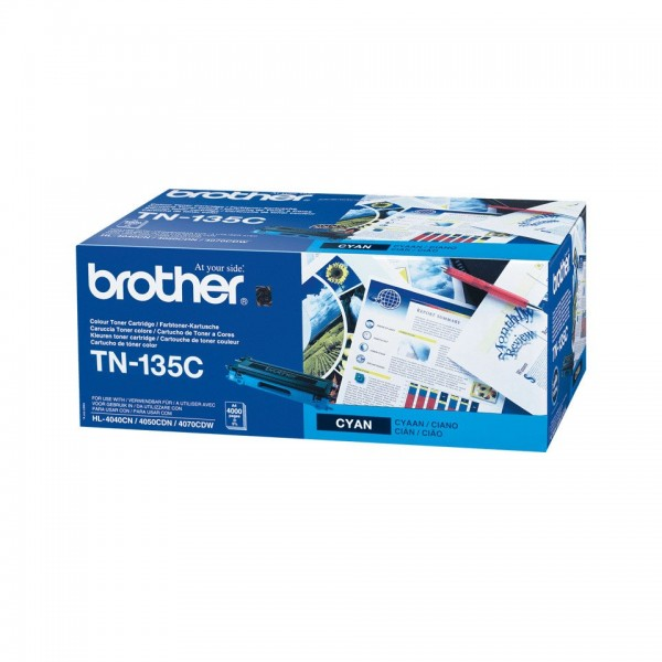 Brother TN135 High Capacity Original Blue Toner